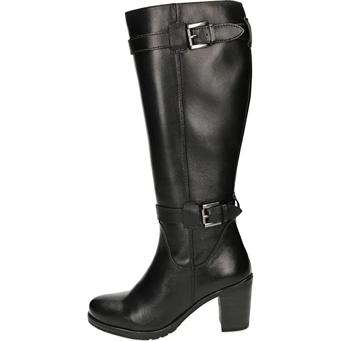 b440fea8ff1 Ravel Dothan Heeled Leather Knee Boots  Amazon.co.uk  Shoes   Bags