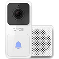 Wyze Video Doorbell (Chime Included), 1080p HD Video, 3:4 Aspect Ratio: 3:4 Head-to-Toe View, 2-Way Audio, Night Vision…