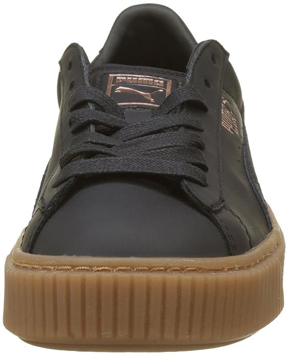 Puma Basket Platform Euphoria Gum, Zapatillas para Mujer: Amazon.es: Zapatos y complementos