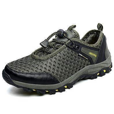 4a5729dcd1c0f Mâle Randonnée Chaussures De Marche Maille Décontractée Respirant Résistant  à l usure Sneakers Mountain Shoes