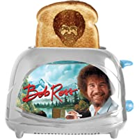 Uncanny Brands Bob Ross Toaster - Toasts Bob's Iconic Face onto Your Toast