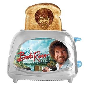 Bob Ross Toaster - Toasts Bob's Iconic Face onto Your Toast