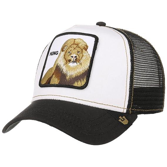 073114e3852ae Goorin King Trucker Cap Bros. Baseball (One Size - White)  Amazon.co.uk   Clothing