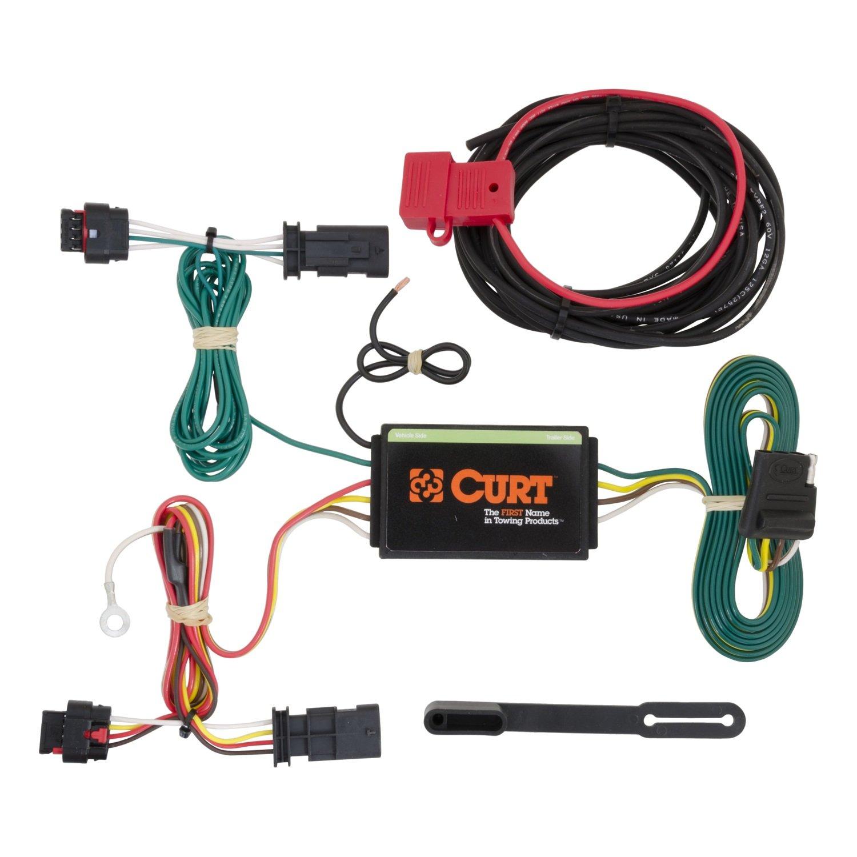 2013 Traverse Trailer Wiring Harness Gm Smart Diagrams Adapter Amazon Com Curt 56181 Custom Automotive Rh