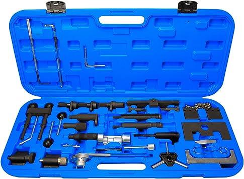 Zahnriemen wechseln Werkzeug Set Nockenwellen Arretierung Satz VAG VW Polo 1,2