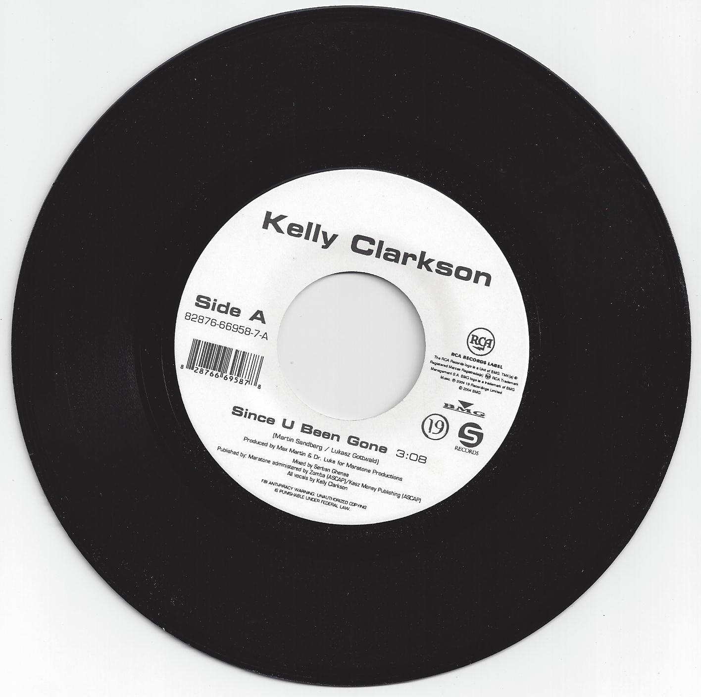 Since U Been Gone/Breakaway (US 7 Inch Vinyl 45) Limited Edition, Original  recording