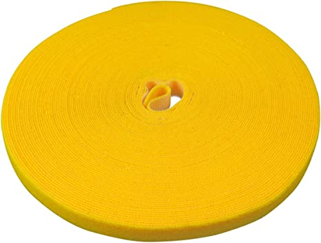 Label The Cable Klettbandrolle Doppelseitig Haken Flausch Klettkabelbinder Zuschneidbar Velours Qualität Geeignet Als Kabelbinder Klettband Ltc Roll Strap 25 M X 16 Mm Gelb Pro 1240 Baumarkt