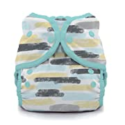 Thirsties Duo Wrap Cloth Diaper Cover, Snap Closure, Dreamscape Size One (6-18 lbs)