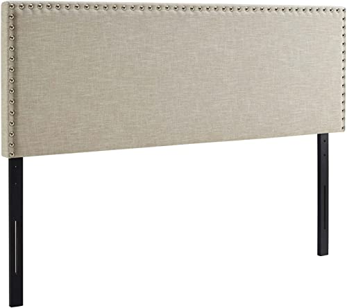 Modway Phoebe Linen Fabric Upholstered King Headboard