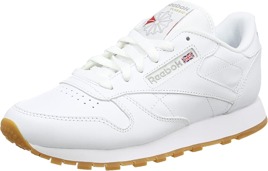e80445122de Reebok Women s Classic Leather Gymnastics Shoes