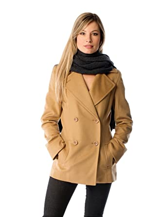 Amazon.com: Women's Cashmere Pea Coat: Clothing