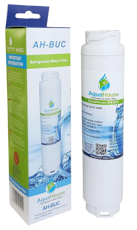 AquaHouse filtro de agua compatibles para Bosch Ultra Claridad ...