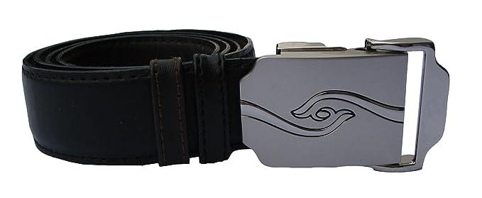 Señor Cinturón de piel con automatikschließe - Cinturón de piel en ...