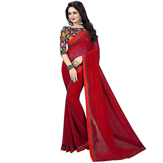 Shayam Georgette Saree New Collection 2018 Sarees For Women Party