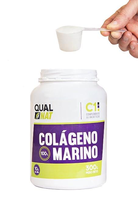 Qualnat Colageno Marino, Hidrolizado, 300gr, Colageno, articulaciones, Propiedades Beneficios.: Amazon.es: Salud y cuidado personal