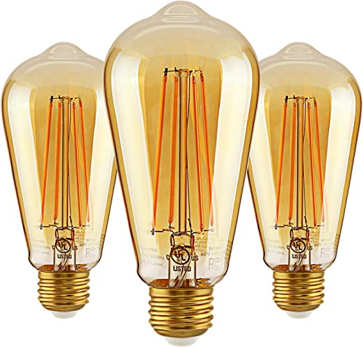 Pack of 6 Energy Star /& UL Certified LED Candle Bulb Home Decorative Lighting Sconces TORCHSTAR 5W Dimmable E12 LED Candelabra Bulb 120/° Beam Angle for Lanterns 2700K Warm White 40W Eqv