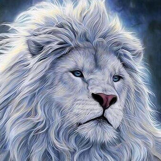 Full Drill Lion DIY Arts Diamond Painting Kit Wall Decor Rhinestone Pasted UK