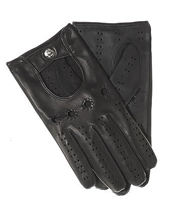 e4673e2cb4fc2 Fratelli Orsini Men's Italian Touchscreen Leather Driving Gloves Size 7  Color Black