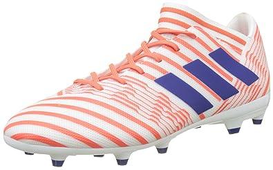 new photos b1920 1472f adidas Nemeziz 17.3 FG, Chaussures de Football Entrainement garçon, Blanc  (Footwear White