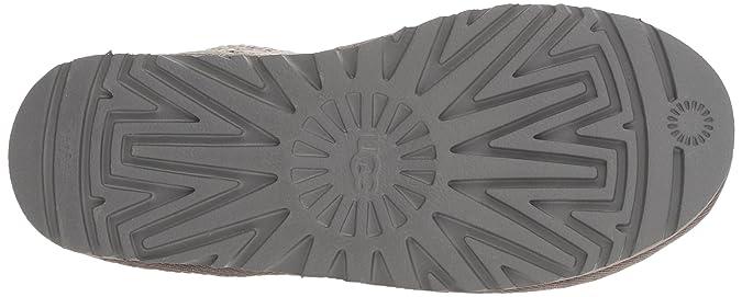212479227f4 Ugg Australia Womens Classic Cardy Grey Wool Boots 7.5 UK: Amazon.co ...