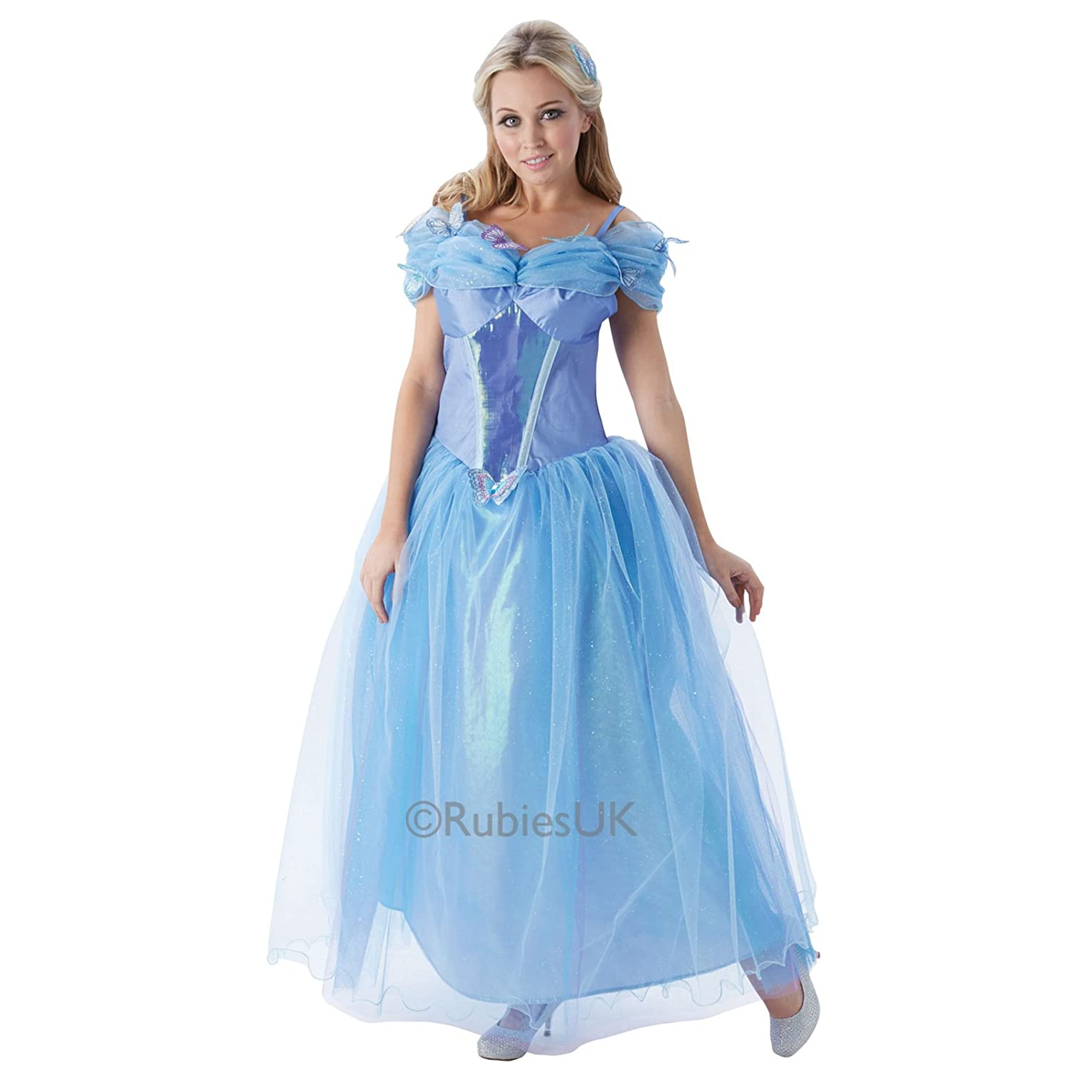 Rubies Womens Disney Princess Costumes  Cinderella  Large