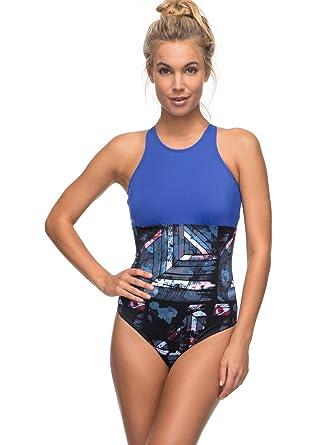 8880f1f566 Roxy Women's Keep Fashion One Piece Swimsuit