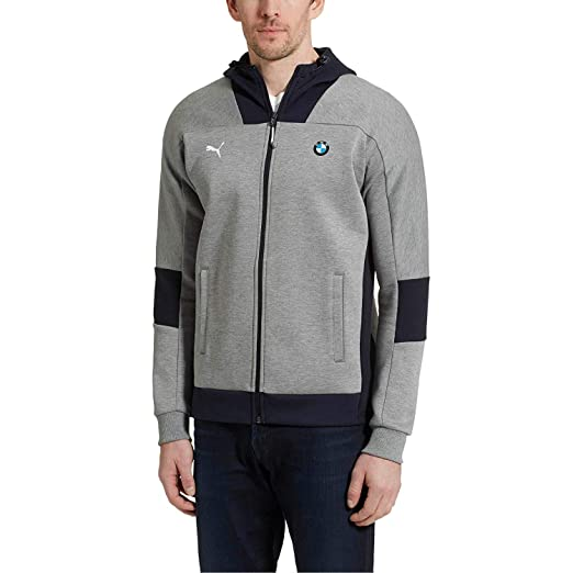 d00a6bc8 PUMA Men's BMW Motorsport Hooded Sweat Jacket at Amazon Men's Clothing store :
