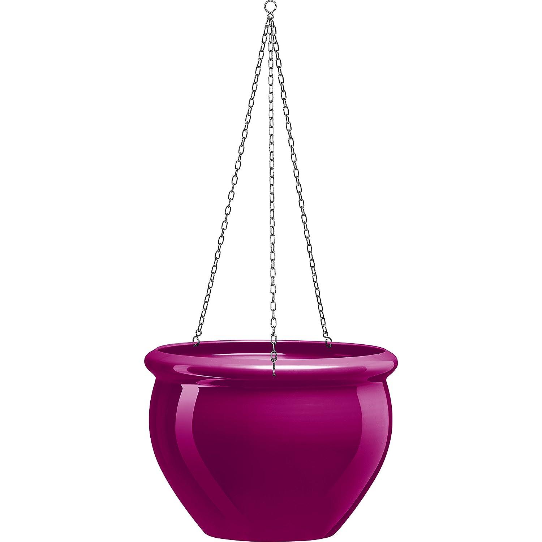 Emsa 514112 SIENA NOBILE hanging planter, ø 26 x 19 cm, pink Emsa GmbH