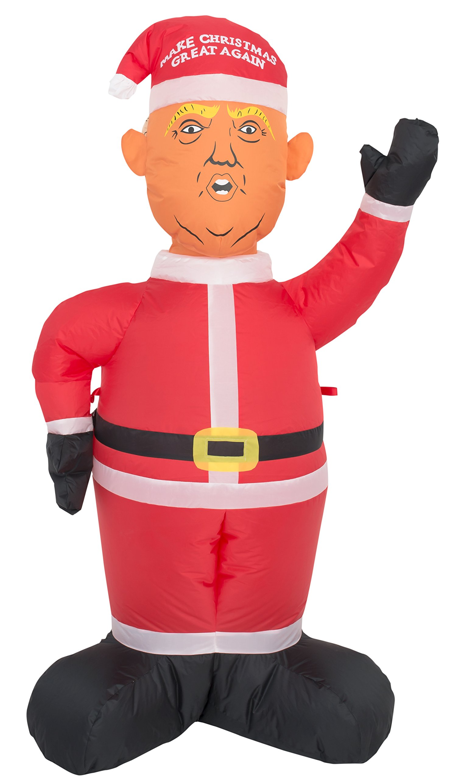 Costume Agent Inflatable Airblown Indoor and Outdoor Christmas Decoration (8 feet, Trump)