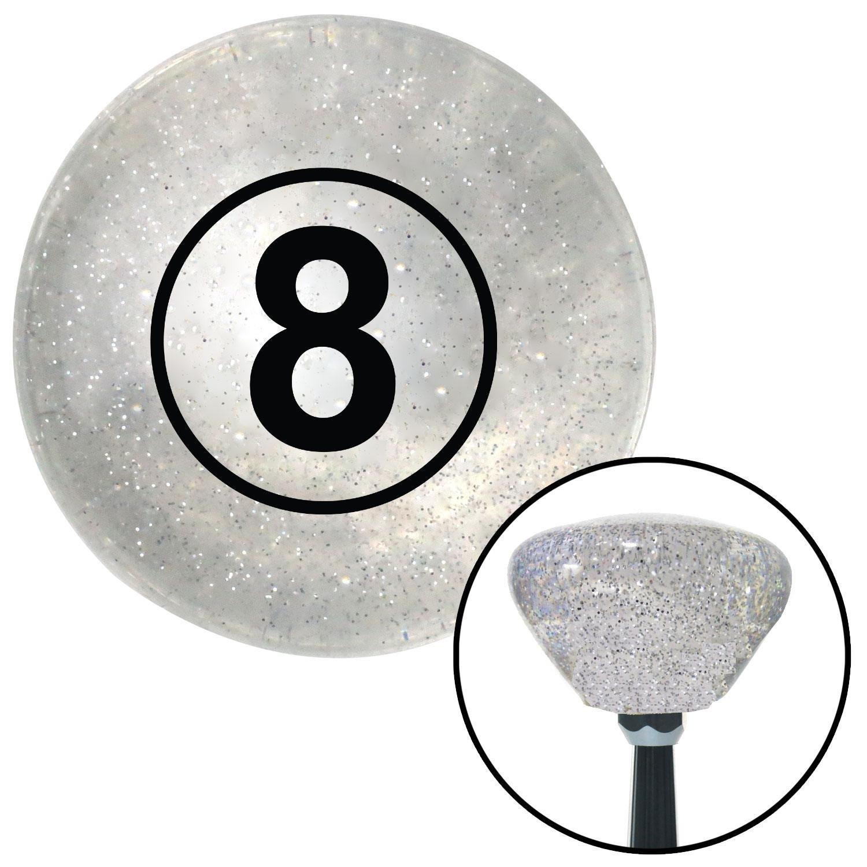 American Shifter 143104 Black Metal Flake Shift Knob with 5//16-24 Insert 8 Ball