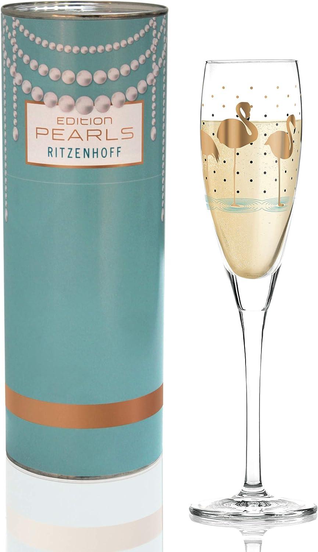 RITZENHOFF 3250043 Champus Verre /à prosecco 138 ml
