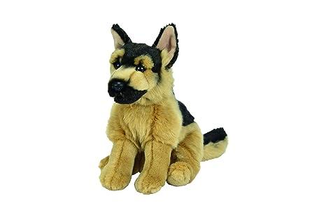 Nicotoy - Peluche de perro de pastor alemán con relleno de bolas, 26 ...