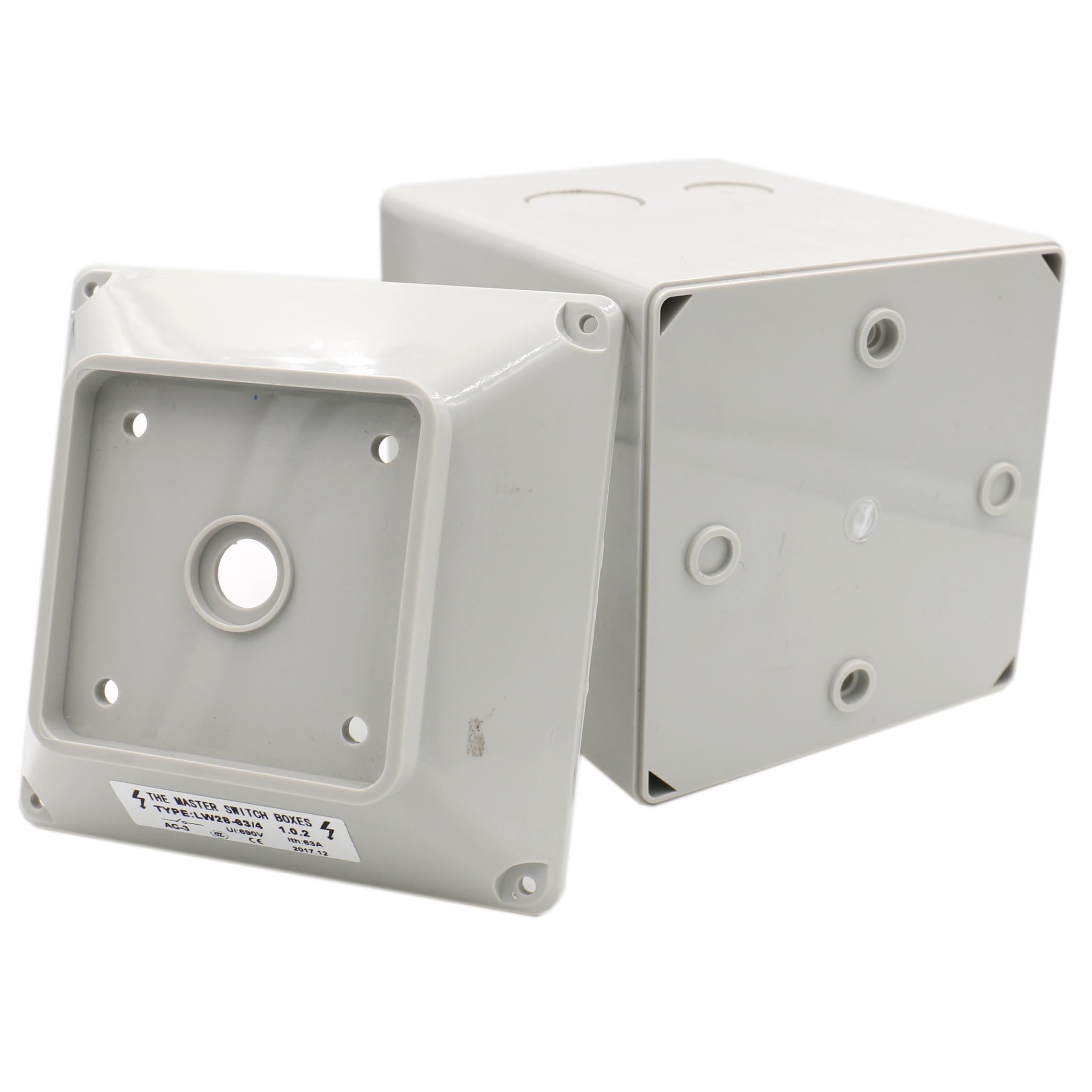 Baomain Master Switch Exterior Box LW28-63/4 Work for Universal Rotary Changeover Cam Switch SZW26-63 660V 63A 3 Position 3 Phase by Baomain (Image #3)