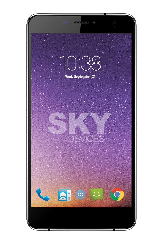 SKY Devices - Platinum 6 0 Plus, Android Unlocked Smartphone, 8MP/5MP  Cameras, 8GB Storage, 1GB RAM - Dark Grey