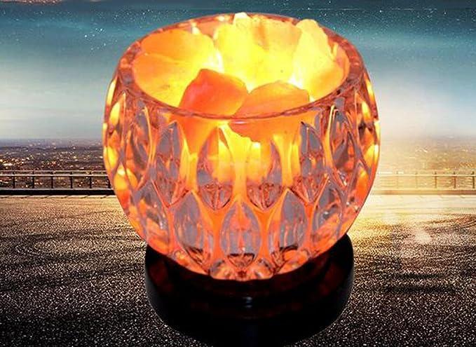 Lampade Cristallo Di Sale : Naturale himalaya sale benessere cristallo di sale lampade