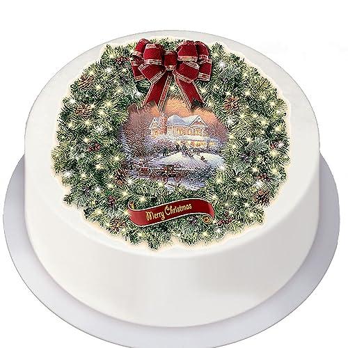 Edible Christmas Cake Toppers: Amazon.co.uk