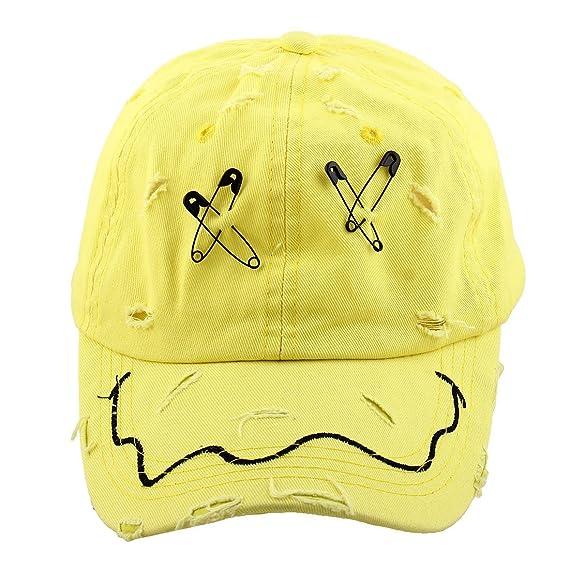 Amazon.com : eDealMax Metal Unisex X Carta de la decoración de deportes al aire Libre Campo de béisbol Ajustable enarboló el casquillo del Sombrero : Sports ...