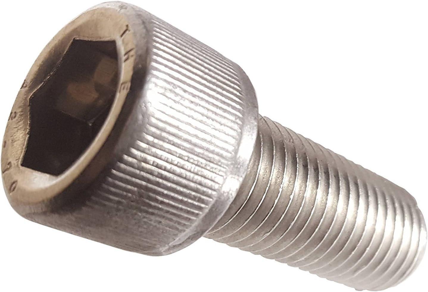 Holo-Krome Internal Wrenching Allen Nuts 3//4-10 Hex Socket Drive r Plain 250pcs Steel Brand Ships FREE in USA by Aspen Fasteners Recess=3//4