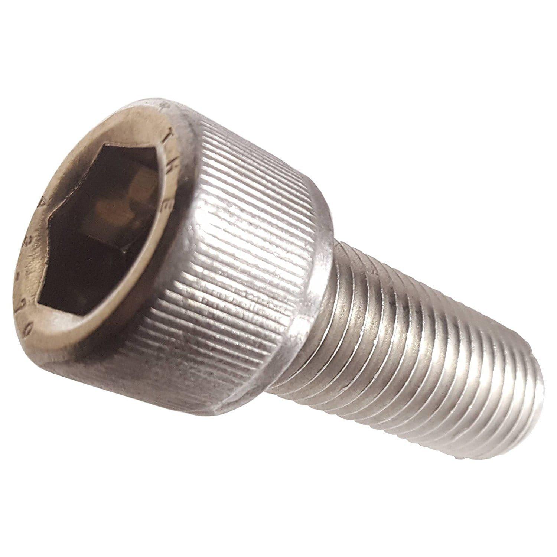 M2.5-0.45 x 10mm Stainless Steel Socket Head Cap Screws Metric DIN 912 A2 Coarse