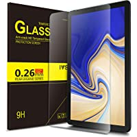 "IVSO Pellicola Protettiva per Samsung Galaxy Tab S4 10.5 SM-T830N/T835N, Pellicola Protettiva Schermo in Vetro Temperato per Samsung Galaxy Tab S4 SM-T830N/T835N 10.5"" 2018, 1 Pack"