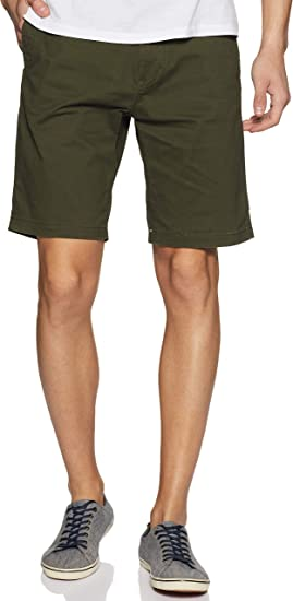 Scotch & Soda Classic Cotton/Elastane Chino Short Pantalones Cortos para Hombre