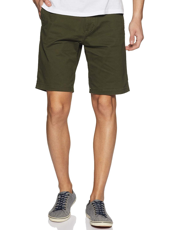 TALLA W34 (Talla del fabricante: 34). Scotch & Soda Classic Cotton/Elastane Chino Short Pantalones Cortos para Hombre