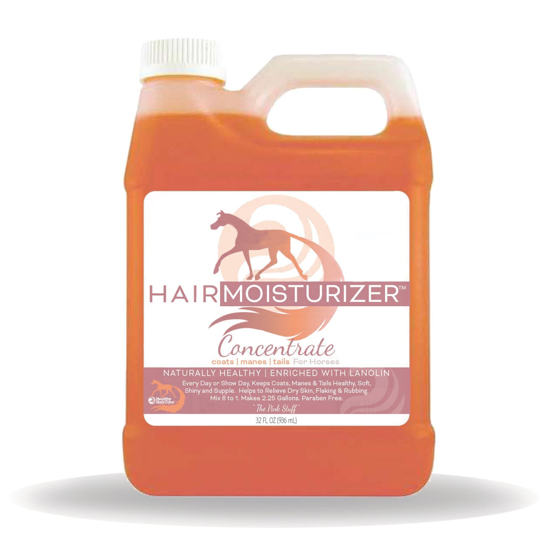 Healthy Hair Care Products 32 fl oz Concentrate Hair Moisturizer for Horses Makes Up To 2 Gallons by Healthy Hair Care Products