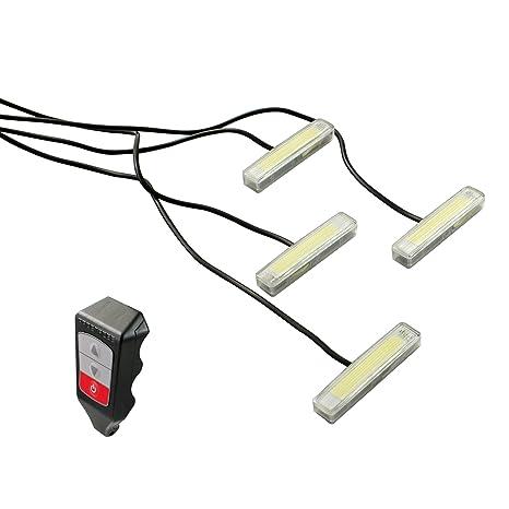 Superb Amazon Com Alpena 70120 Quad Slim Dual Color Wireless Remote Strobe Wiring Database Plangelartorg