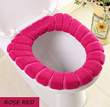 Remarkable 2 Pack Toilet Seats Covers Soft Warm And Stretchable Theyellowbook Wood Chair Design Ideas Theyellowbookinfo