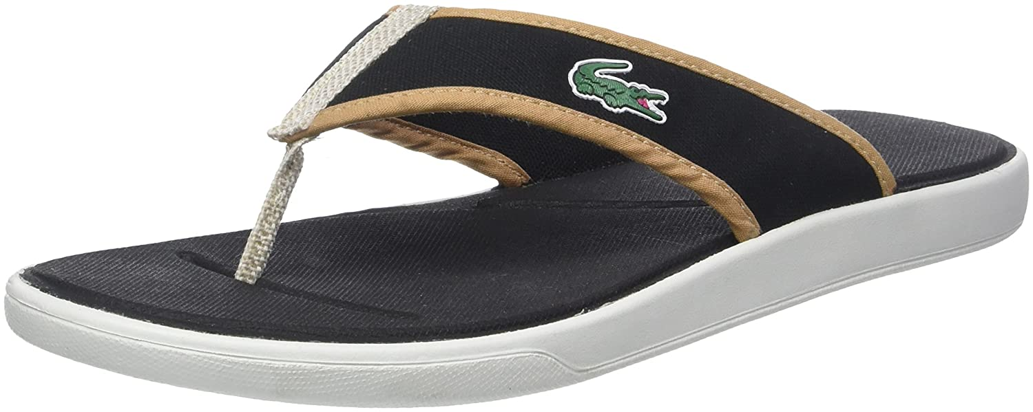 1b7e0a14549f Lacoste Men s L.30 Sandal 218 2 Cam Flip Flops  Amazon.co.uk  Shoes   Bags