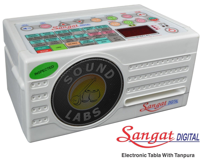 NEW SANGAT ELECTRONIC TABLA & TANPURA MACHINE COMBINE~TAALMALA PAKHWAJ DHOLAK