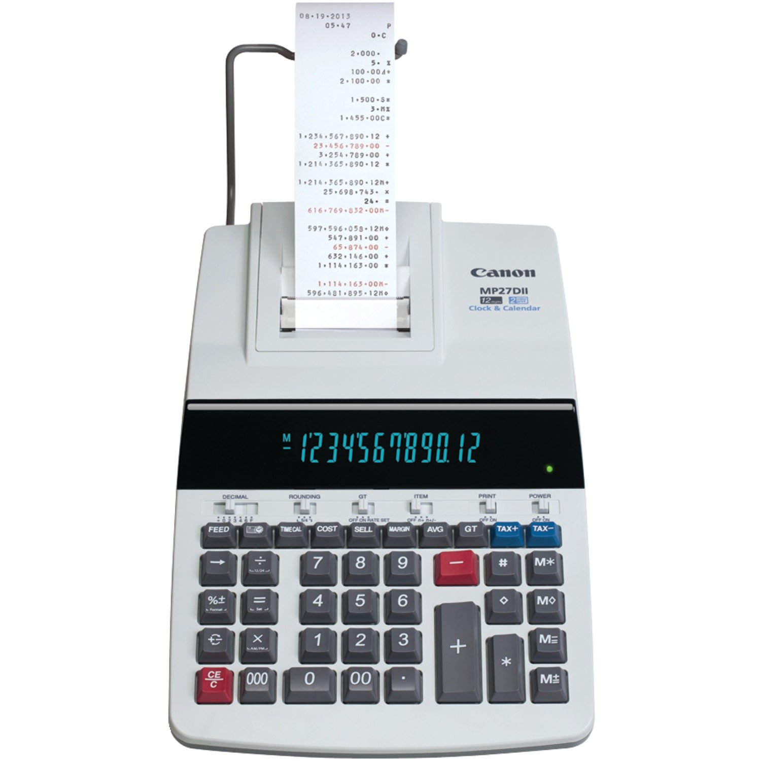 Canon Office Products MP27DII Desktop Printing Calculator by Canon (Image #1)