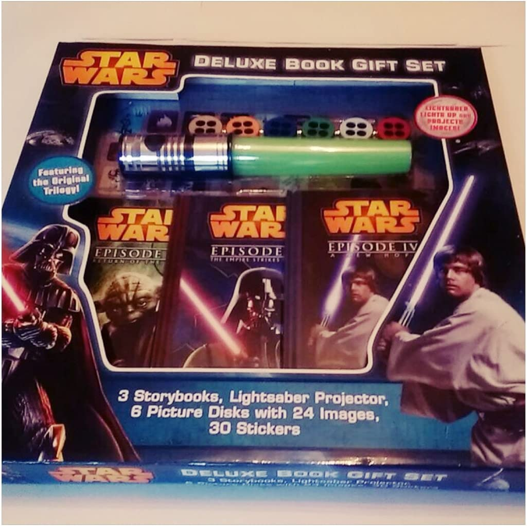Lucasfilm Ltd. Set de Regalo de Libro de Star Wars Deluxe: Amazon ...