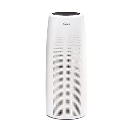 Winix NK100 Large Area True HEPA Tower Air Purifier, White